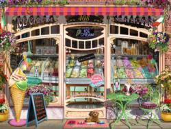Ice Cream Shop Sweets Jigsaw Puzzle