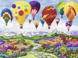 Spring is in the Air Balloons Jigsaw Puzzle