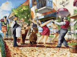 Tango Street Scene Jigsaw Puzzle