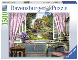 Bedroom View Landscape Jigsaw Puzzle