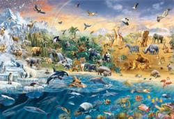 Our Wild World Wildlife Jigsaw Puzzle