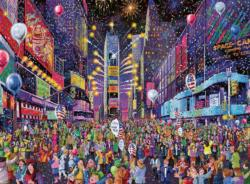 New Years in Times Square New York Jigsaw Puzzle
