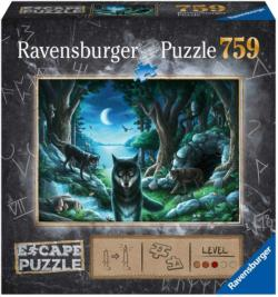 Curse of the Wolves Wolves Escape Puzzle