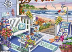 Seaside Sunshine Seascape / Coastal Living Large Piece