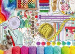 Needlework Station - Scratch and Dent Everyday Objects Large Piece