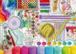 Needlework Station Everyday Objects Large Piece