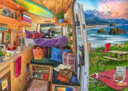 Rig Views Landscape Jigsaw Puzzle