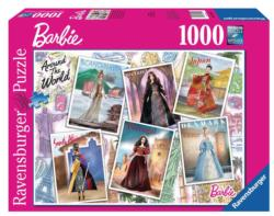 Barbie Around the World Nostalgic / Retro Jigsaw Puzzle