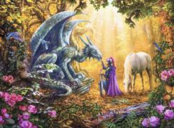 Dragon Whisperer Dragons Jigsaw Puzzle