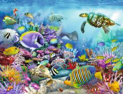 Coral Reef Majesty Under The Sea Jigsaw Puzzle