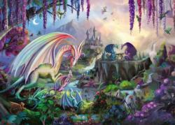Dragon Valley Dragons Jigsaw Puzzle