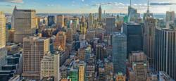 View Over New York New York Panoramic Puzzle