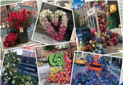 NYC Flower Flash New York Jigsaw Puzzle