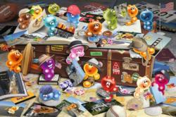 German Tourists Cartoons Jigsaw Puzzle