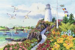 Coastal Paradise Seascape / Coastal Living Jigsaw Puzzle