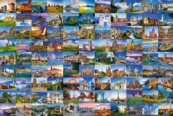 Beautiful Places of Europe Europe Jigsaw Puzzle