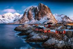 Hamnoy, Lofoten Seascape / Coastal Living Jigsaw Puzzle