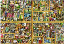 Magical Bookcase Pattern / Assortment Jigsaw Puzzle