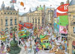 Piccadilly Circus London Jigsaw Puzzle