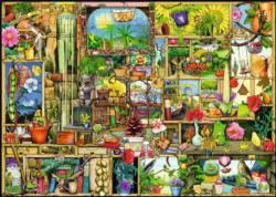 The Gardener's Cupboard Pattern / Assortment Jigsaw Puzzle