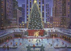 NYC Christmas Christmas Jigsaw Puzzle