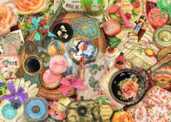 Vintage Collage Nostalgic / Retro Jigsaw Puzzle