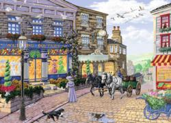 The Wedding Shop Street Scene Jigsaw Puzzle