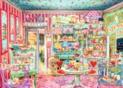 The Candy Shop General Store Jigsaw Puzzle