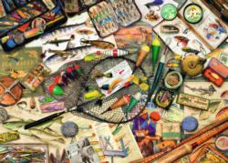 Fishing Fun Fishing Jigsaw Puzzle