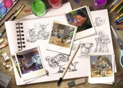 Sketches - Disney / Pixar Collage Jigsaw Puzzle