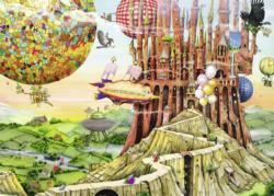 Flying Home Castles Jigsaw Puzzle