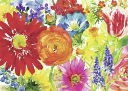 Abundant Blooms Mother's Day Jigsaw Puzzle