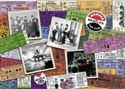 Beatles: Tickets Nostalgic / Retro Jigsaw Puzzle
