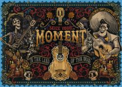 Seize Your Moment Day of the Dead Jigsaw Puzzle