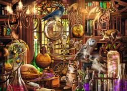 Merlin's Laboratory Fantasy Jigsaw Puzzle