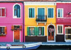 185 Graziella Burano Italy Jigsaw Puzzle