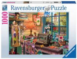 The Sewing Shed Domestic Scene Jigsaw Puzzle