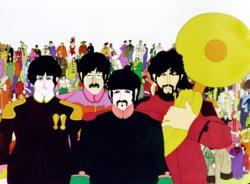 Beatles: Yellow Submarine Music Jigsaw Puzzle