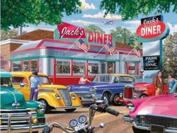 Meet you at Jack's Nostalgic / Retro Jigsaw Puzzle