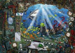 Submarine Cartoons Jigsaw Puzzle