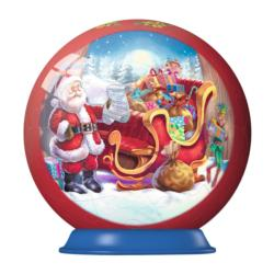 Sleigh Christmas Ornament Christmas 3D Puzzle