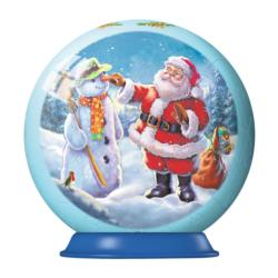 Santa Ornament Christmas 3D Puzzle