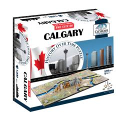 Calgary, Canada Maps / Geography Jigsaw Puzzle