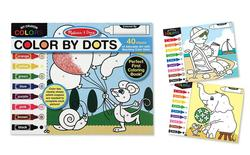 Color by Dots Children's Coloring Books - Pads - or Puzzles