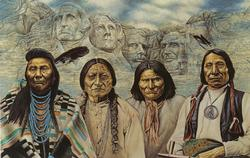 Original Founding Fathers Native American Jigsaw Puzzle