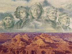 Grandfather Earth Native American Jigsaw Puzzle