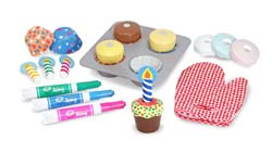 Bake & Decorate Cupcake Set Food and Drink Pretend Play