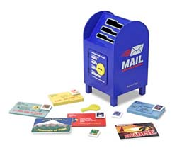Stamp and Sort Mailbox Pretend Play