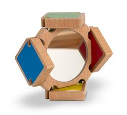 Color-Flap Mirror Toy