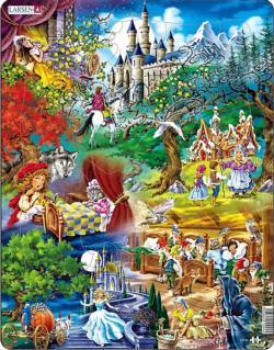 Grimm's Fairy Tales Fantasy Children's Puzzles